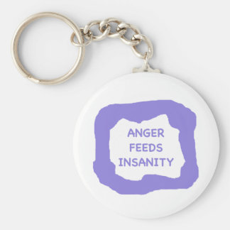 Anger feeds insanity .png keychain