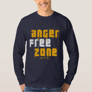 """Anger Free Zone"" T-Shirt"
