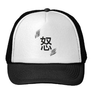 anger mesh hats