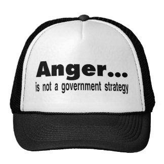 anger trucker hat