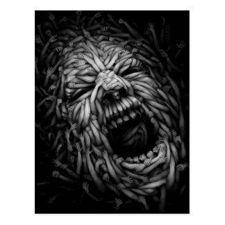 Anger In 3 D Postcard