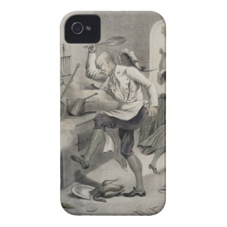 Anger in the Kitchen, from a series of prints depi iPhone 4 Case-Mate Cases