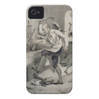 Anger in the Kitchen, from a series of prints depi iPhone 4 Cases