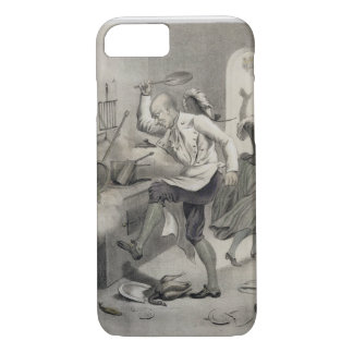 Anger in the Kitchen, from a series of prints depi iPhone 7 Case