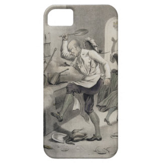 Anger in the Kitchen, from a series of prints depi iPhone SE/5/5s Case