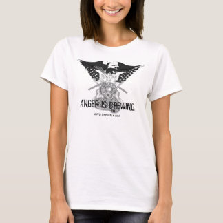 ANGER IS BREWING Tulsa Tea Party T-Shirt