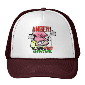 Anger is the Best Medicine Trucker Hat
