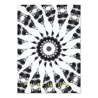 Anger Kaleidoscope 10 5x7 Paper Invitation Card