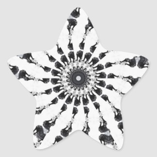 Anger Kaleidoscope 12 Star Sticker