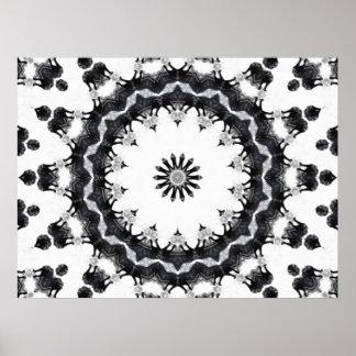 Anger Kaleidoscope 15 Print