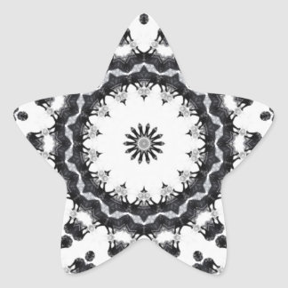 Anger Kaleidoscope 15 Star Sticker