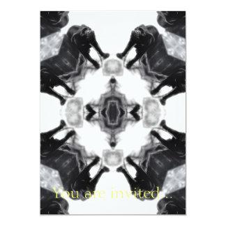 Anger Kaleidoscope 1 5x7 Paper Invitation Card