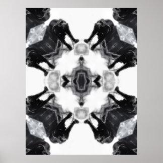 Anger Kaleidoscope 1 Print