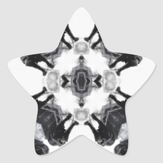Anger Kaleidoscope 1 Star Sticker