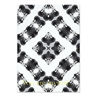 Anger Kaleidoscope 2 5x7 Paper Invitation Card