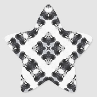 Anger Kaleidoscope 2 Star Sticker