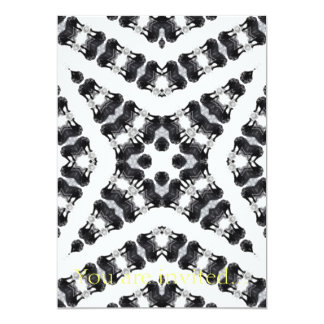 Anger Kaleidoscope 3 5x7 Paper Invitation Card