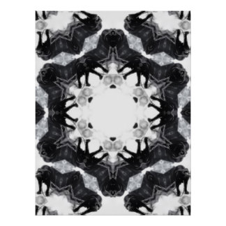 Anger Kaleidoscope 4 Print