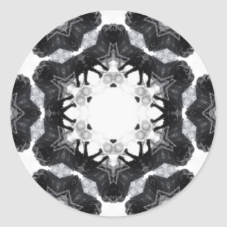 Anger Kaleidoscope 4 Sticker