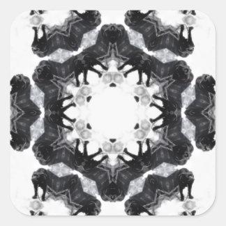 Anger Kaleidoscope 4 Stickers