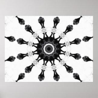 Anger Kaleidoscope 5 Print