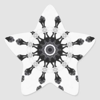 Anger Kaleidoscope 5 Star Sticker