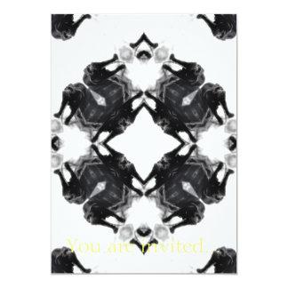 Anger Kaleidoscope 6 5x7 Paper Invitation Card
