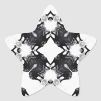 Anger Kaleidoscope 6 Star Sticker