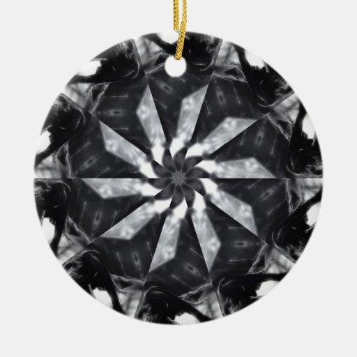 Anger Kaleidoscope 7 Ornament