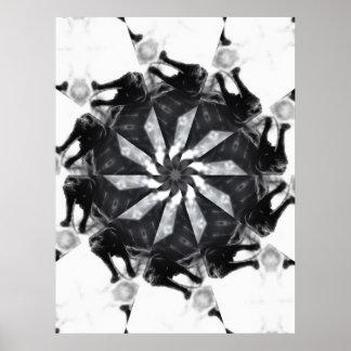 Anger Kaleidoscope 7 Print
