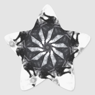 Anger Kaleidoscope 7 Star Sticker