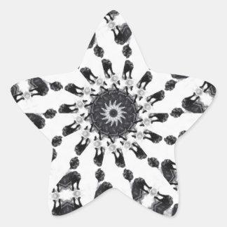 Anger Kaleidoscope 8 Stickers