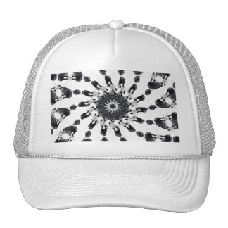 Anger Kaleidoscope 8 Trucker Hat