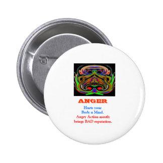 ANGER Management 2 Inch Round Button