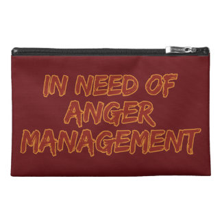 Anger Management custom color accessory bags