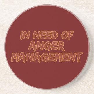 Anger Management custom color coaster