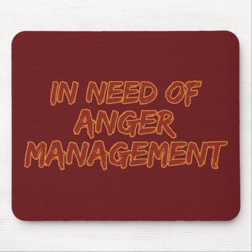 Anger Management custom color mousepad