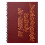 Anger Management custom notebook