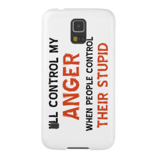Anger management designs cases for galaxy s5