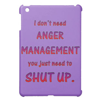 Anger Management iPad Mini Covers