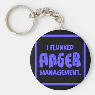 Anger Management Keychain
