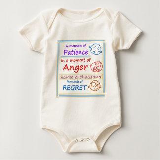 Anger Management : Motivational Moments Baby Bodysuits