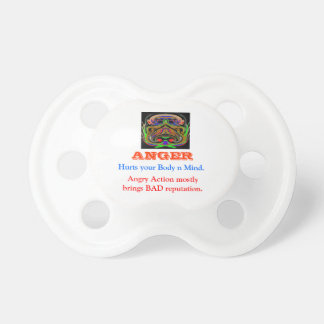 ANGER Management Baby Pacifiers
