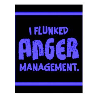 Anger Management Postcard