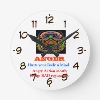 ANGER Management Round Clock