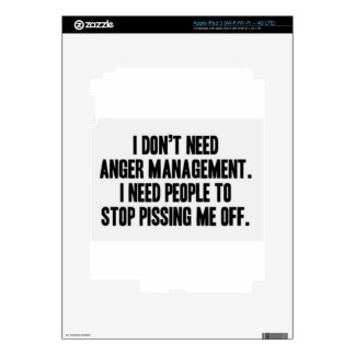 Anger Management iPad 3 Skins