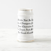 Anger Not The DM Beer Stein