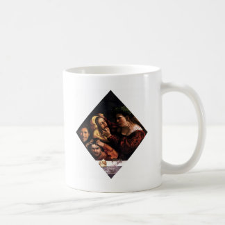 Anger or the Tussle by Dosso Dossi Coffee Mug
