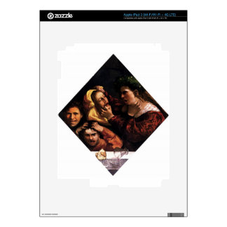 Anger or the Tussle by Dosso Dossi iPad 3 Decals