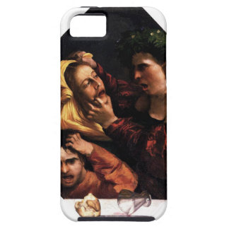 Anger or the Tussle by Dosso Dossi iPhone SE/5/5s Case